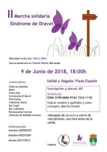 II Marcha Solidaria Síndrome de Dravet 2018 Fuente-Álamo