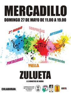 Mercadillo Zulueta 27 mayo 2018