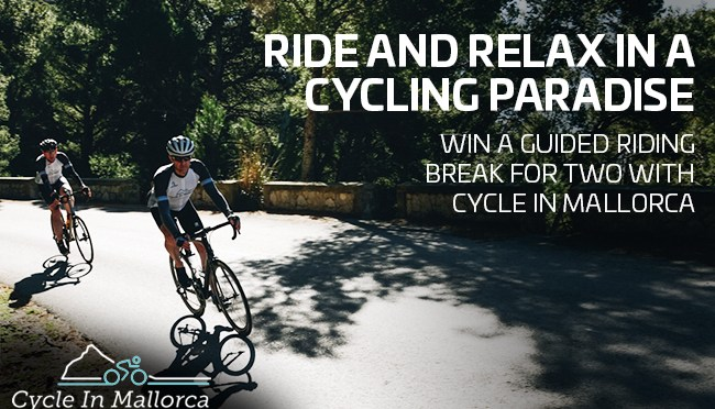 Win a guided riding break for two with Cycle In Mallorca