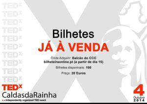 TedX Caldas da Rainha - Bilhetes