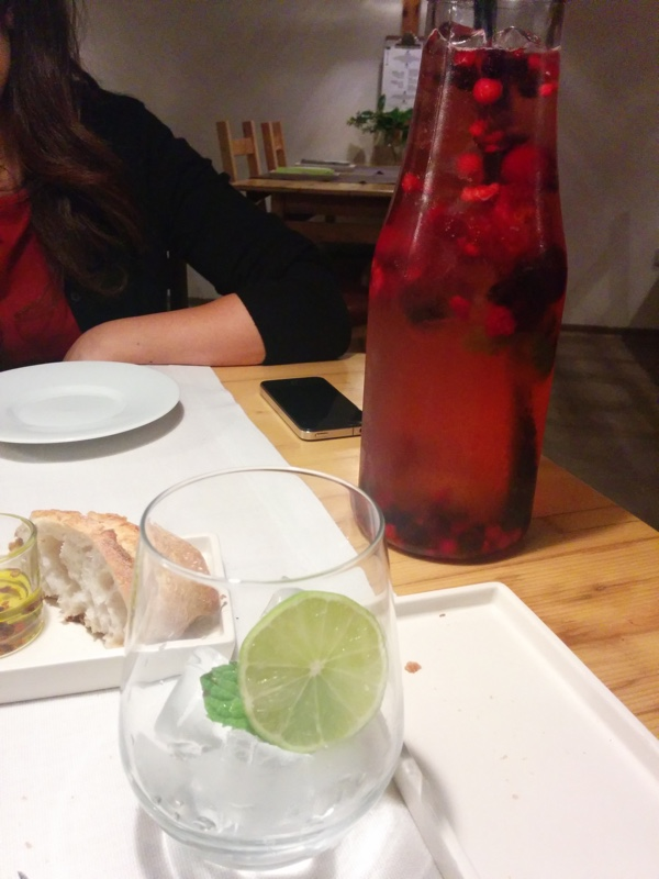 Meia Tigela - Sangria de Champanhe