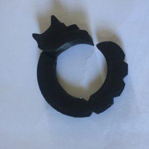 3D printed cat ring
