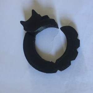 3D printed cat ring