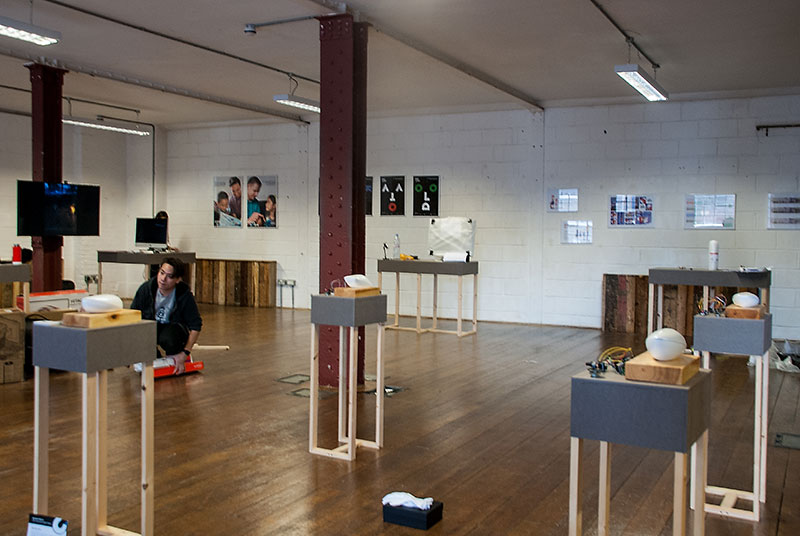 Exhibition view - Ugly Duck SE1