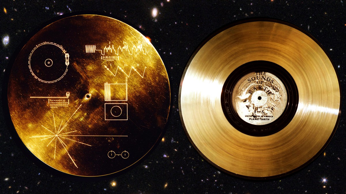 Voyager Golden Record featured on Twenty Thousand Hertz