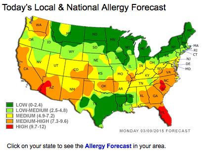 Oh it's allergy season alright