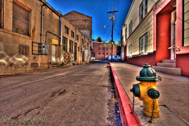 A side street in Bisbee