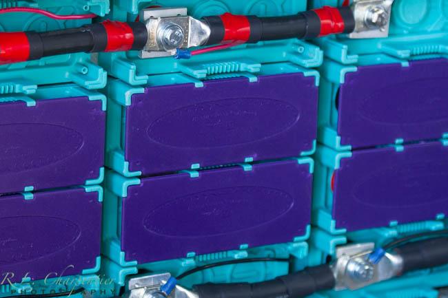 RV Solar Battery Array