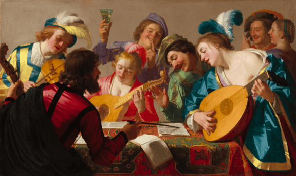The Concert - Honthorst