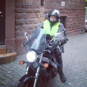 Поездка на мотоцикле из Германии