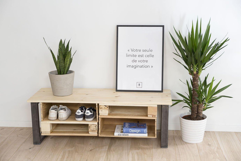 diy creez un meuble a chaussures unique