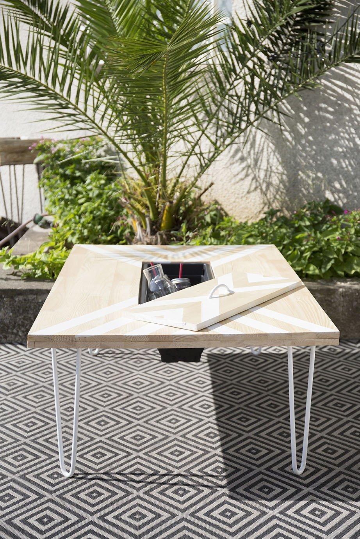 table basse exterieure