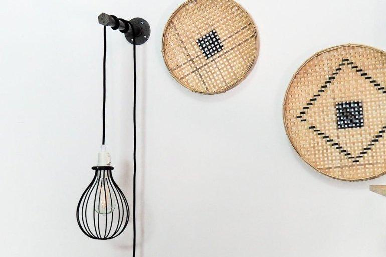 DIY Lampe suspendue