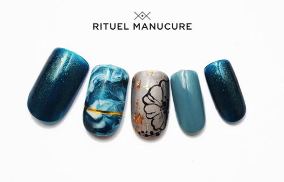 Nail art Happy gel 2