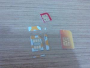 Pengalaman memotong Sim Card standard menjadi Micro Sim Card 03