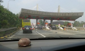gerbang tol serang timur