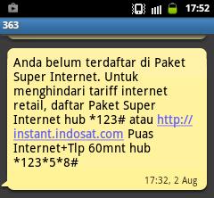 1 Sebelum diisi Indosat Data 2GB