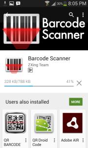 2 Aplikasi Android untuk Cek Barcode e-Faktur - berat aplikasi 788kb