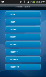 Update pilihan pembelian listrik prabayar di mobil banking bank mandiri