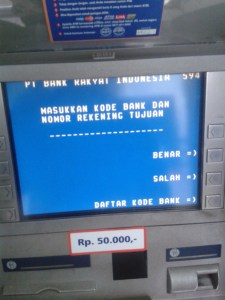 Daftar Kode Bank se indonesia