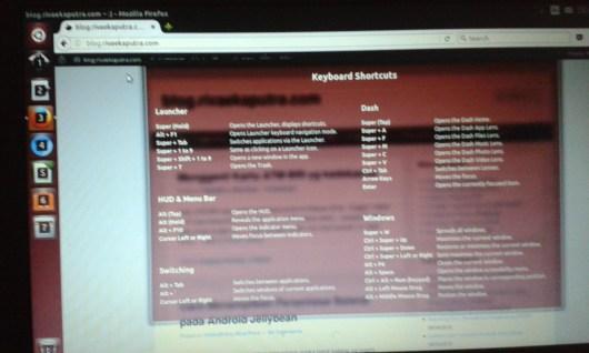keyboard Shortcuts pada Linux Ubuntu