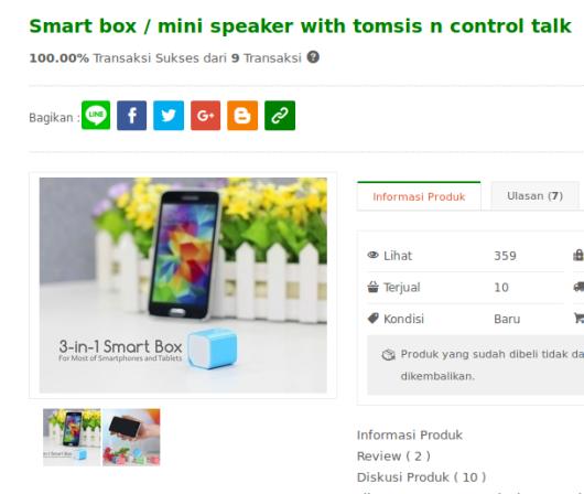 Speaker mini untuk solusi sementara sony m4 aqua yg mati