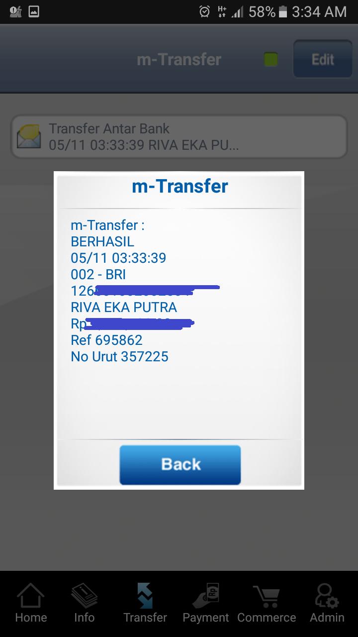 Cara Transfer M Banking Bri Ke Bca - Cara Bangking