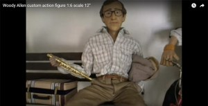 Woody Allen Action Figure