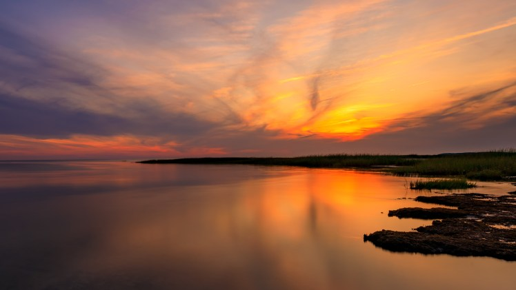 Wellfleet Bay Wildlife Sanctuary sunset
