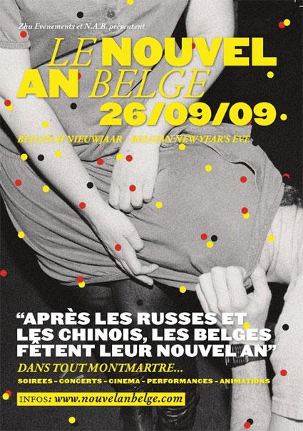 Nouvel An belge 2009