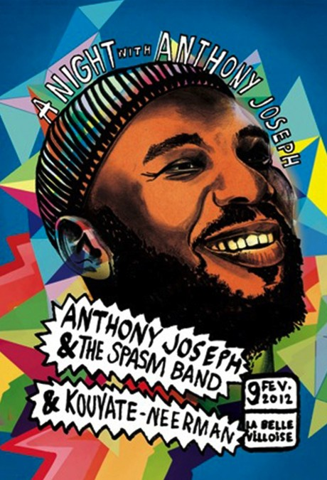 Anthony Joseph & The Spasm Band + Kouyate-Neerman à la Bellevilloise