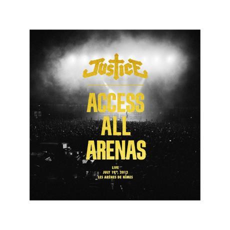 Pochette de l'album Access All Arenas du groupe Justice