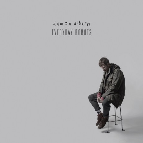 Pochette de l'album Everyday Robots de Damon Albarn