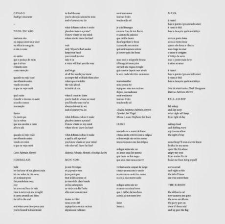Pochette de l'album Cavalo de Rodrigo Amarante