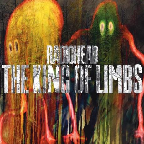 Pochette de l'album The King of Limbs du groupe Radiohead