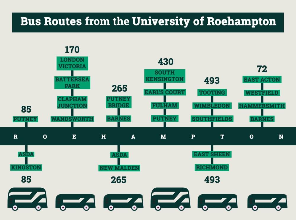 Roehampton Buses
