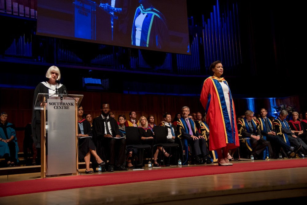 Rt. Hon the Baroness Scotland QC receives an Honorary Degree
