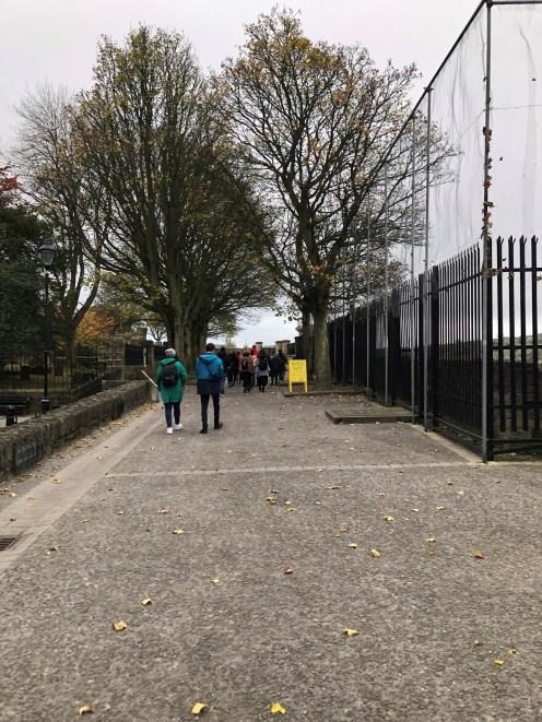 Derry walls platform