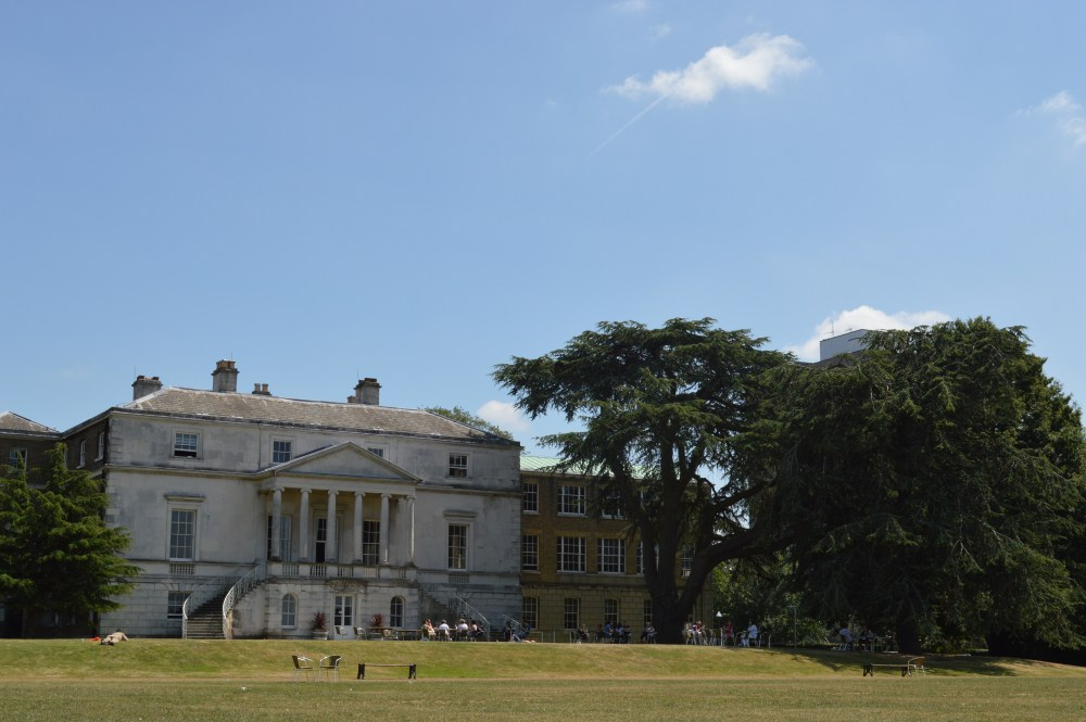 View from the lawn at Parkstead House, Whitelands College