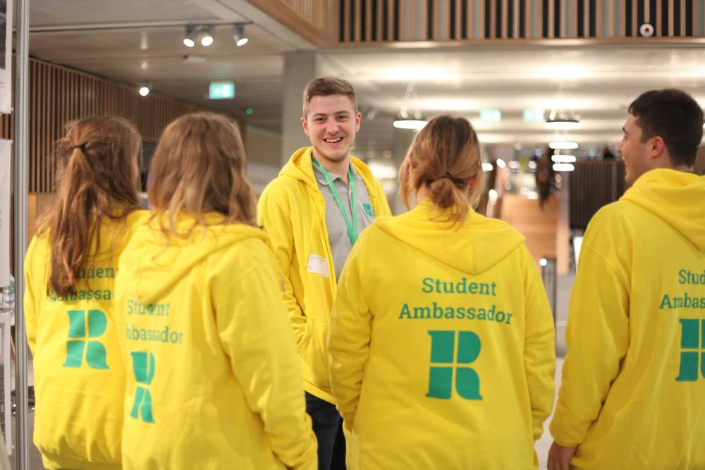 Student Ambassadors in the Library