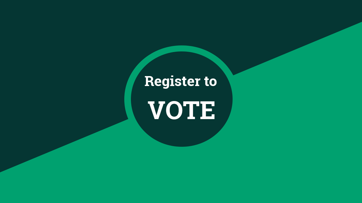 6 reasons why you should register to vote