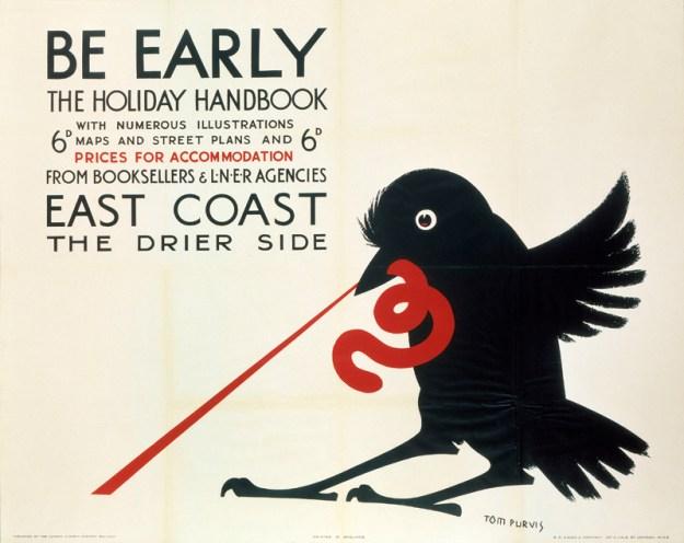 ÔBe EarlyÕ, LNER poster, 1923-1947.