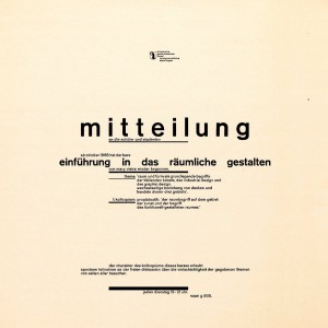 Wolfgang Weingart 1968