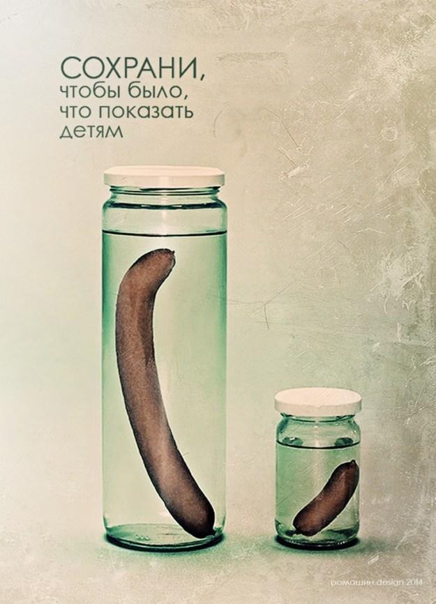 """""""Сохрани!"""" 2014 Плакат"""