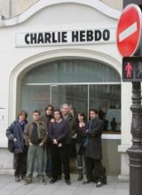 сотрудники Charlie Hebdo, четверо из них погибло