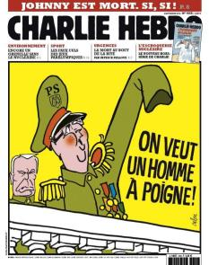 CHARLIE HEBDO_Kaver CHARLIE HEBDO. RIP CHARLIE HEBDO. RIP la une de ce mercredi 5 septembre