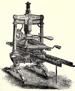 Печатный станок Гутенберга ЧТО ТАКОЕ ОФСЕТ ЧТО ТАКОЕ ОФСЕТ И ДРУГИЕ СЕКРЕТЫ ПОЛИШИНЕЛЯ                                                    15012