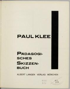tipografika-bauxauz2 Типографика Баухауз, 20-е годы Типографика Баухауз, 20-е годы 2 Paul Klee Pa 776 dagogisches Skizzenbuch1 5