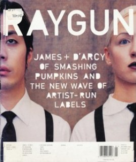 Дэвид Карсон Raygun Magazine