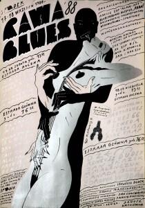 Польский плакат ПОЛЬСКАЯ ШКОЛА ПЛАКАТА ПОЛЬСКАЯ ШКОЛА ПЛАКАТА serov POLAND 55